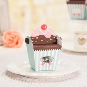 DIY Cupcake / ice-cream favor weddi..