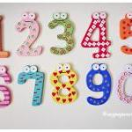 26pcs colorful wood alphabe..
