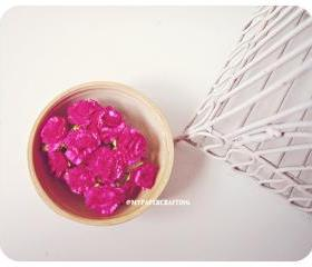 10 Carnation paper flower/ pack