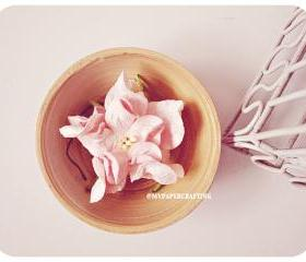 2 Gardenia Big paper flower Pink / pack