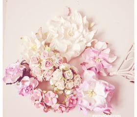 Mixed Sample Mulberry paper flower / pack