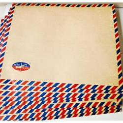 Brown Air mail envelopes